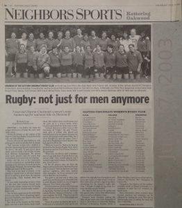 Dayton Rugby - Women